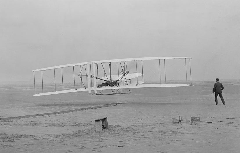 Kitty Hawk, 1901 - Skąd się biorą niestworzone rzeczy