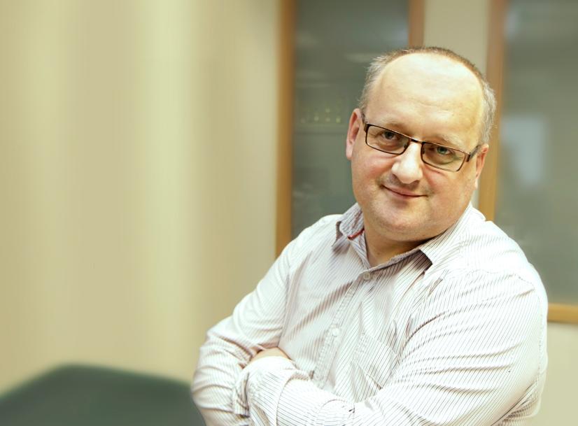 Jarosław Bazydło, inżynier wsparcia w dziedzinie systemów bezpieczeństwa sieciowego w firmie COMP S.A.