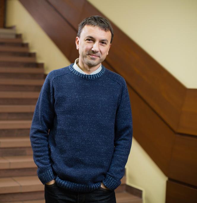 Kamil Wojniak, kierownik Sekcji Miejskiej Sieci Komputerowej w Zakładzie Obsługi i Informatyki Urzędu Miasta Kielce
