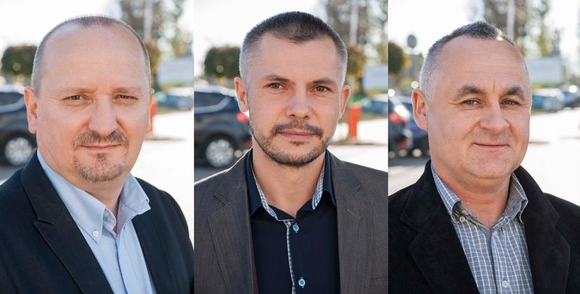 Krzysztof Głuc, Dariusz Kosakowski, Andrzej Wójsik, Sądeckie Wodociągi Sp. z o.o.