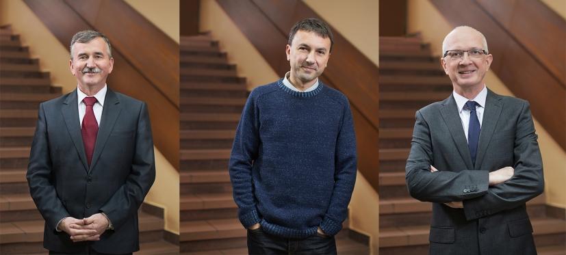 Zygmunt Mazur, Kamil Wojniak, Zdzisław Wijas